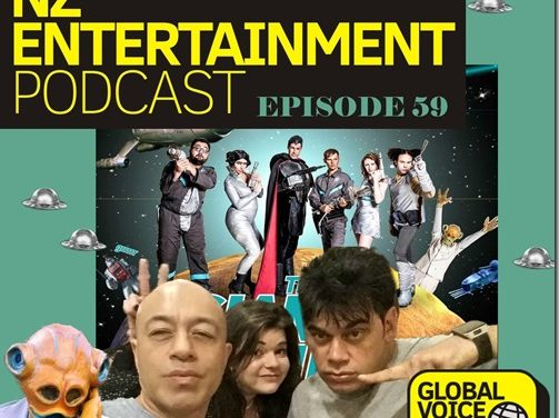 NZ Entertainment Podcast 59: Conjuring 2, Me Before You, VPMA2016, This Giant Papier Mache Boulder Is Actually Really Heavy