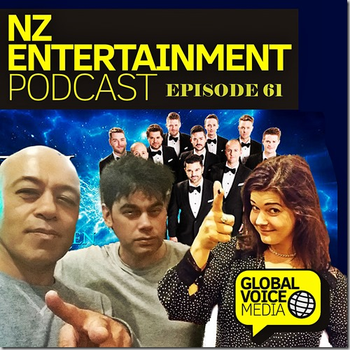 NZ Entertainment Podcast 61: The Ten Tenors, This Giant Papier Mache Boulder is Actually Really Heavy