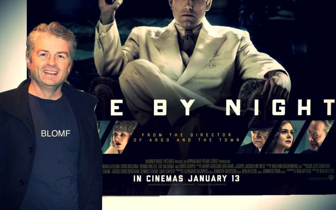 "Live By Night – Film Review. 3.5/5 ""Visually Lavish"" Glenn Blomfield."