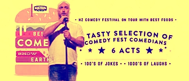 """Best Comedy Show On Earth """"Lovegrove On Fire"""""""