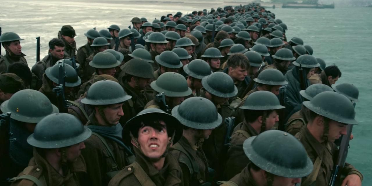 """DUNKIRK """"Masterpiece"""" Director Christopher Nolan, 107mins Review Glenn Blomfield"""